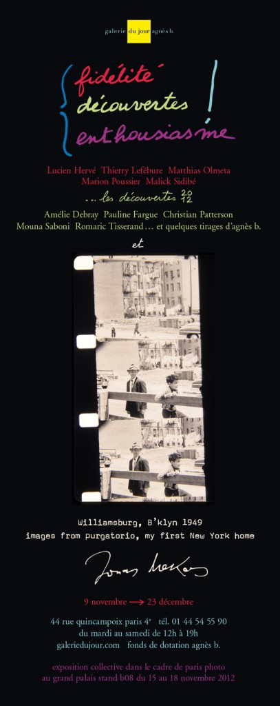 romaric-tisserand-aanonymes-photography-icaar-lamarck-galerie-agnesb-opennig-jonas-mekas-malik-sidibé